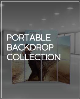 Portable Backdrop Collection