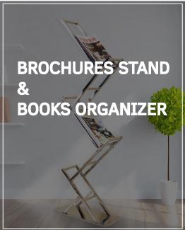 Brochure & Book Organizer